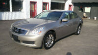 2009 Infiniti G37x AWD/Loaded/BOSE/Sunroof/Alloys Certified! Kitchener / Waterloo Kitchener Area Preview