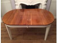 Real Solid Oak Extendable Table