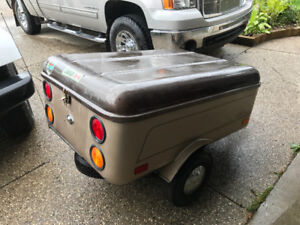 motor cycle trailer