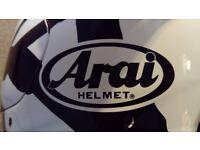 Arai Motorcycle Helmet - Size Small (55cm-56cm Head Size)