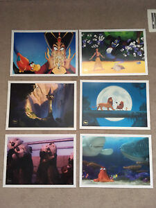 Authentic Disney stamped lithographs