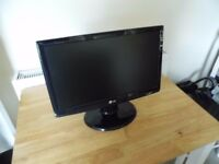 "22"" LG LCD Monitor, 100% working."