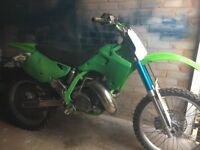 Kx 250 Kawasaki 1992 evo bike