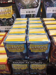 Matte Blue Dragon Shield Sleeves Best prices On Sleeves Here