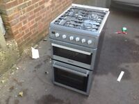 Hoover gas cooker 500mm wide and 600 deep front to back