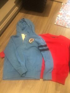 8-10 size  boys sweaters