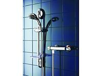 Galaxy Quasar Thermostatic Bar Mixer Shower Chrome - 026859