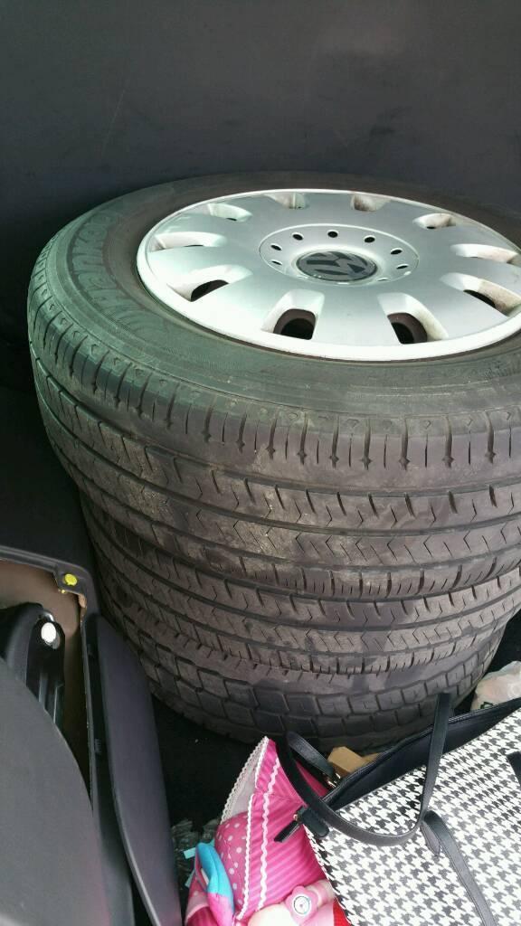Vw transporter shuttle tyres