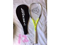 Dunlop squash racket in good condition