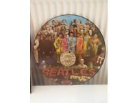 Sgnt pepper lonely hearts club vinyl picture disc