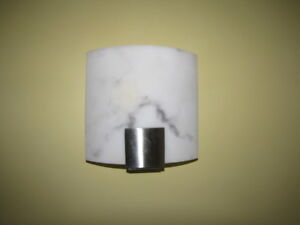 Sconces made of marble