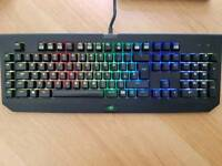 Razer chroma keyboard and razer mamba tournament mouse