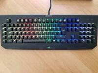 Razer chroma keyboard and razer mamba tournament mouse