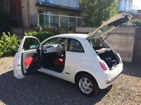Cream Fiat 500 32,000 Miles Six Months Tax MOT Low Insurance Seller Moving to London