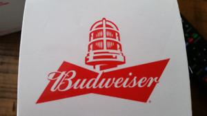 NHL Budweiser Red Lamp NHL Goal Mug  Brand New in box and plasti