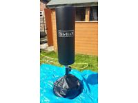 For sale Standing Punch Bag 'SH'HAN' good/clean condition £70 ono collection only