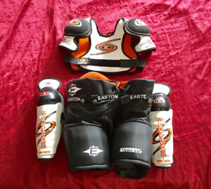 Easton Youth Hockey Pants, Shoulder & Shin Pads BRAND NEW
