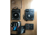 DJ Equipment Bundle - CAN ALSO BE SOLD SEPARATELY (see prices below)
