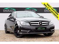 2012 12 MERCEDES-BENZ C CLASS 1.8 C180 BLUEEFFICIENCY AMG SPORT 2D 156 BHP