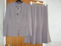 Jacques Vert Grey 2 Piece Suit