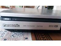 Panasonic DVD player, S-35, good condition. Slimline.