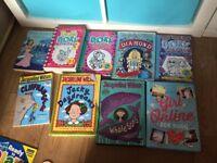 Girls books various
