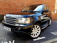 ((Land Rover Range Rover Sport 2.7 TD V6 HSE 2KEYS TOP SPEC~NAV~XENONS~STUNNING! FULL SERVICE‼️