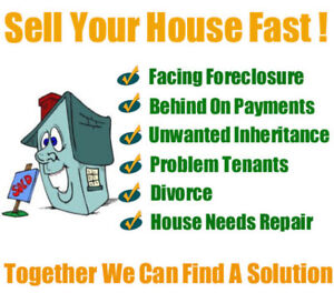 NEED TO SELL YOUR HOUSE FAST? We Will Buy Any House Fast Cash!