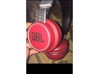BOSE RED JBL WIRELESS AZ-05 HEADSET
