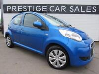 CITROEN C1 1.4 VTR PLUS HDI 5d 54 BHP (blue) 2010