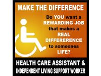 HEALTH CARE & INDEPENDENT LIVING ASSISTANT GRAVESEND AREA FROM £9.00 TO £18.00 PER HR
