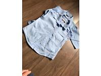 School uniform girl blue shirts size 4 years
