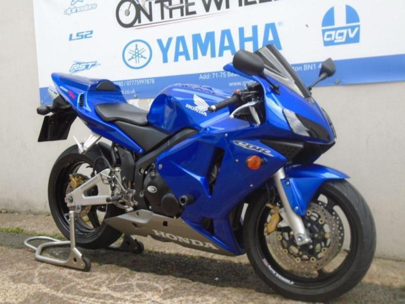 2004 HONDA CBR600RR SUPERSPORT, STUNNING BLUE, **HPI CLEAR** **LOW MILES**