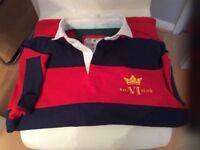 Mans howick polo shirt size s