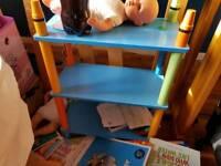 Crayola bookshelf