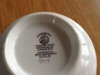Harrods best burnished gold sugar bowl .used