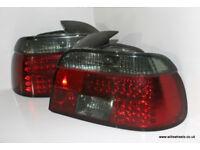 BMW E39 LED Smoked Rear Lights Pre-Facelift Saloon 540i 535i 530d 528i 523i 525tds 520i