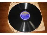 Panachord 78 RPM Record - Shadow Waltz & Let's Call It A Day