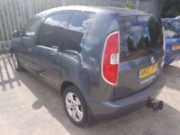 SKODA ROOMSTER 1.4TDI ( 9 STAMPS- FULL SERVICE HISTORY ) (ANY OLD CAR PX WELCOME) 1.4 TDI economical