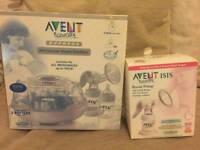 Avent breast pump and steriliser