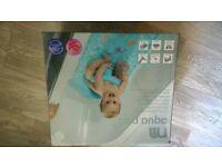 Mothercare Aqua Pod blue baby bath mat support NEW