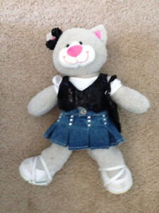 Build-a-Bear Kitty with stunning outfit