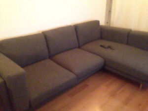 Nockeby L-shaped Couch/Sofa/Canapé Nockeby en L