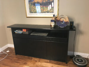 Solid Wood Contemporary Credenza -Reduced Price to Sell!