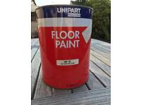 Floor Paint Red