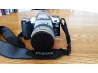 For sale: PENTAX MZ-6 film camera with Pentax 35mm interchangeable lens