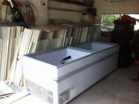Freezers 7ft & 8ft jack Fulton type slide top
