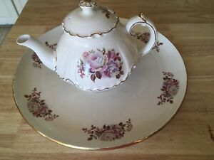 *new price* Teapot and serving tray