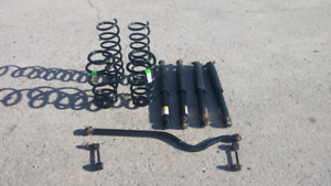 2014 jeep wrengler suspension
