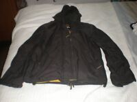 MENS BROWN SUPERDRY JACKET FOR SALE